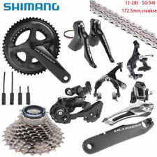 Shimano UT R8000 Ultegra Full Road Groupset Group 50/34t 172.5mm 11-28t New 2018