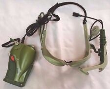 2004 Tiger Electronics Laser Tag Green Goggles + Walkie Talkie As-Is Untested