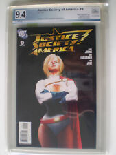 Justice Society of America #9 PGX 9.4 Power Girl Alex Ross  Variant
