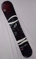 FiveForty PS Reverse Adult - Rocker Cap Wide Red/Blue 154cm Snowboard Black