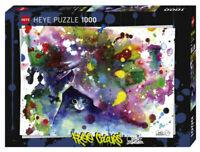 Heye Puzzles - 1000 piece jigsaw puzzle Meow  HY29825