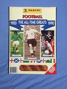Panini The All Time Greats 1920 1990 complete VGC