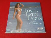 Vintage Large Semi-Nude Pinup Wall Calendar 1999 Lovely Latin Ladies SEALED    D