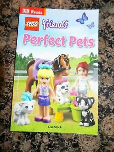 LEGO FRIENDS PERFECT PETS   LISA STOCK   PAPERBACK