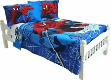 Amazing Spider-Man FULL 4 Piece Sheet Set Marvel Comics Microfiber 294229 FULL