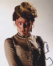 Rachael Stirling Hand Signed 8x10 Photo Autograph, Dr Who, Tipping The Velvet