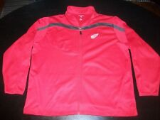 Men's Detroit Red Wings Polyester Jacket by Antigua (Size XL)