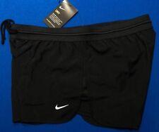 New Nike Women's Running Shorts Dry Dri-Fit Black 904904 010 SZ M