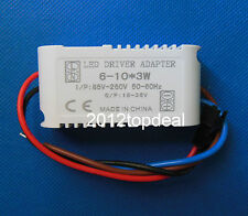 10PC Constant Current Driver F 6-10pcs 3W High Power LED in series,6-10x3w 650mA