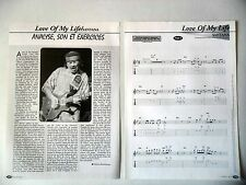"""COUPURE DE PRESSE-CLIPPING : CARLOS SANTANA [15pages]2001 Partition """"Love Of my"""