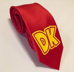 DK Necktie, Donkey Kong Tie, Cool Tie