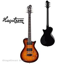 HAGSTROM HSULSWEGEB ULTRA SWEDE ELECTRIC GUITAR IN GOLDEN EAGLE BURST - NEW