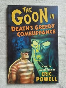 THE GOON VOLUME 10 IN DEATH'S GREEDY COMEUPPANCE TPB GRAPHIC NOVEL 1ST PRINT ED.