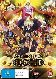 One Piece Film - Gold (DVD) Brand New / Sealed - Region 4