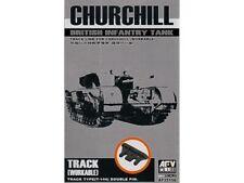 AFV Club 1/35 TRACK LINK FOR CHURCHILL TANK (WORKABLE) AF35156