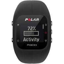 Polar A300 Fitness and Sleep Tracker Black Silicone Digital Watch 90051951