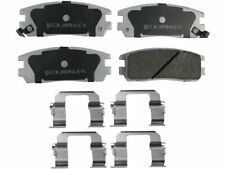 For 2001-2003 Isuzu Rodeo Sport Disc Brake Pad and Hardware Kit Rear 46292ZQ