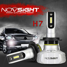 NOVSIGHT Upgrade H7 10000LM Car Seoul LED Headlight Bulbs Kit 6500K Super Bright