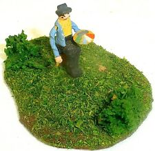 Painter with Palette Preiser Wood Wooden Figures 50er Years H0 1:87 # 162 Å