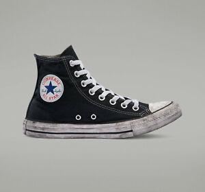Converse Chuck Taylor All Star Canvas Smoke High Top Shoes Black