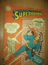 .SUPERHOMBRE and JIMMY PAL 1958-,22X 15 CM COLUR  -ARGENTINA EDIT.MUCHNIK