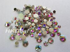 720 pcs Bulk Pack Swarovski Flatback Mixed 5 Size Crystal AB Rhinestones #118Bu