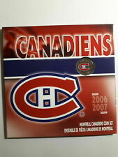 2007 Montreal Canadiens Special Edition Quarter in Royal Canadian Mint Set