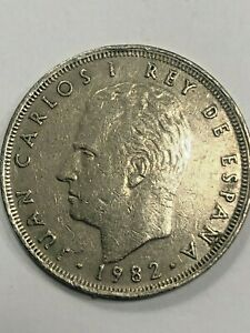1982-M Spain One Peso Foreign Coin #474