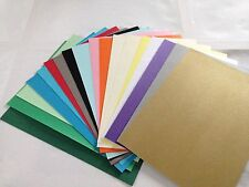 John Lewis A4 PREMIUM card stock craft board various colours x10 sheet pack