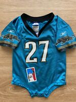 Rashean Mathis Jaguars NFL Football Toddler Infant Romper Reebok Jersey Size 18m