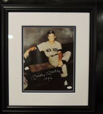 "Mickey Mantle Signed Inscribed ""1956""Gallo 11""X14"" Photo Framed PSA COA"