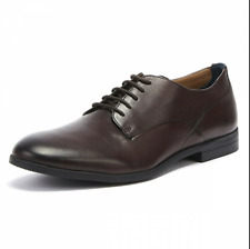 Mens Hudson Axminster Calf Brown Leather Lace-up Shoes UK 7/EU 41