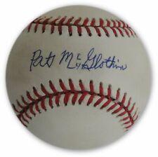 Pat McGlothin Hand Signed Autographed MLB Baseball Brooklyn LA Dodgers W/ COA