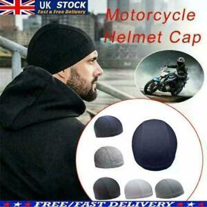 Bikers Moisture Wicking Cooling Skull Cap Inner Liner Helmet Beanie CapSweatband
