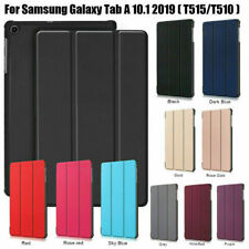 """Case For Samsung Galaxy Tab A 10.1"""" T510/T515 2019 Smart Magnetic Leather Cover"""