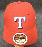 New 59fifty Texas Rangers Official On-Field Baseball Cap 6 1/2 MLB New Era