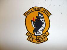 b3463 Vietnam US Navy SEAL UDT MST Mobile Support Team 2 Det Charlie patch IR33G