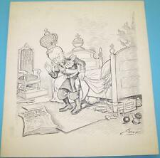 "Charles L. Bartholomew  ""Bart"" (1869–1949) Original Art Czar Nicholas of Russia"