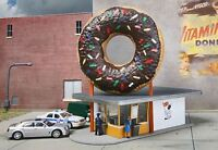 WALTHERS CORNERSTONE HO SCALE 1/87 HOLE-IN-ONE DONUT SHOP | BN | 933-3768