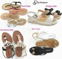 NEW Women's Fashion Shoes Summer Thong Sandals Open Toe Strappy Comfort Casual
