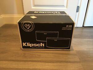 Klipsch Reference R-14S Surround speakers Pair, Black