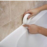 3.35M x 28mm Sealing Strip Bath Shower Sink Basin Edge White Sealant Tape Rubber