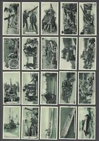 1936 ardath Britain's Defenders Tobacco Cards Complete Set of 50