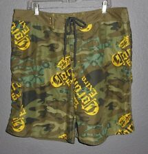 Corona Extra Beer Mens Size XL 40 Board Shorts Surf Swim Trunks Camouflage Camo