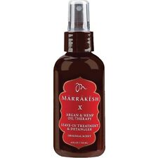 Marrakesh X Leave In Treatment And Detangler 118ml Argan Oil Infused