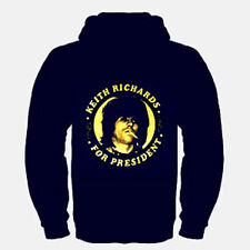 Keith Richards For President  Music punk rock Hooded    M - L- XL- XXL  NEW