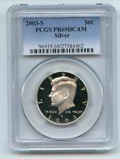 2003 S 50C Silver Kennedy Half Dollar PCGS PR69DCAM