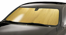 GOLD Window Custom Fit Sun Shade Heat Shield 2017 Honda CRV w/ sensor HD-95A-G