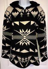 RALPH LAUREN Wool Aztec Navajo Southwest Hooded Sweater PS Excellent Condition!