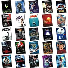 Movie Posters - Poster Art - Classic Movies - Aluminium Sheet - HUGE SELECTION!